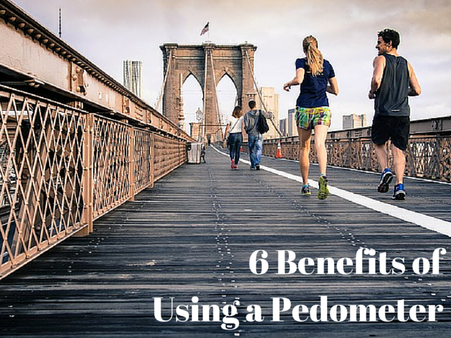 6 Benefits of Using a Pedometer
